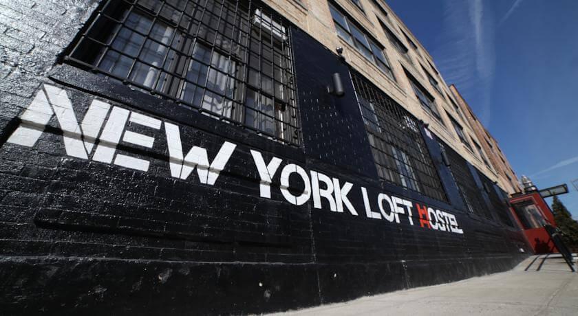 New York loft hostel