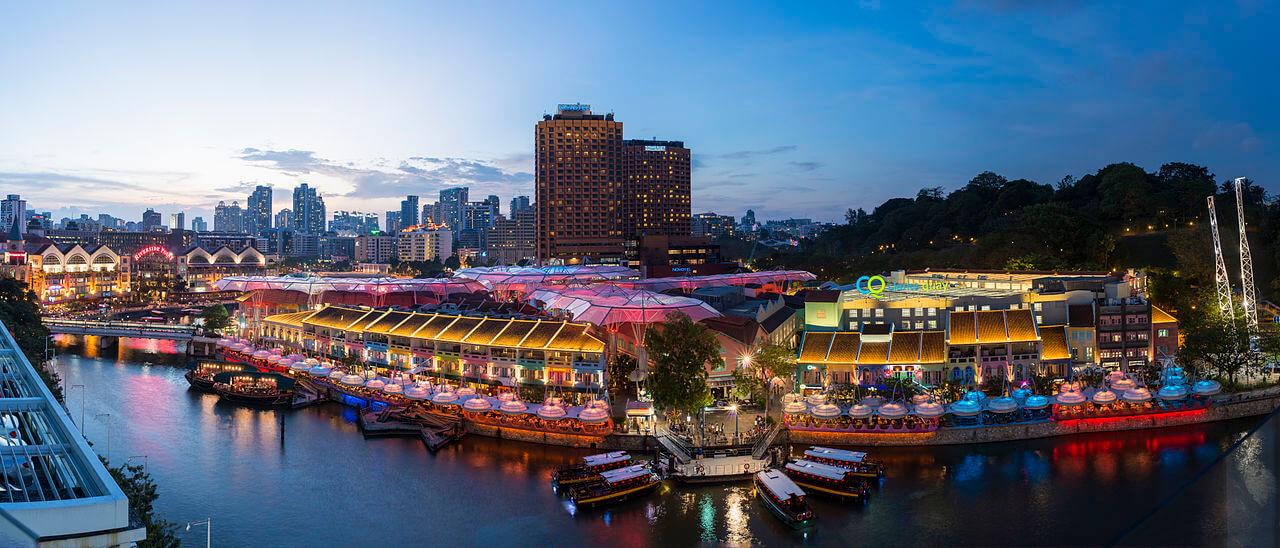 1_clarke_quay_singapore_night_2014