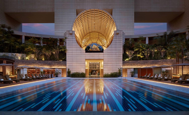 swimming-pool-night